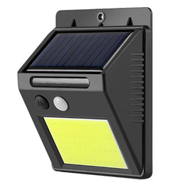 solar sensor security lights Australia - 48 Led Waterproof Outdoor Wall LED Solar Night light Motion Sensor Auto Switch Street Security Garden Lamp