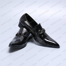 $enCountryForm.capitalKeyWord Australia - Mens Dress Shoes High Heels Leather Wedding Shoes Mens Formal Business Oxfords Shoes for Work Plus Size