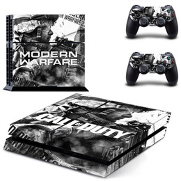 cool ps4 Canada - Fanstore Skin Sticker Full Set Vinyl Decal Skin Wrap for Playstation PS4 Console and 2 Remote Controller Cool Design