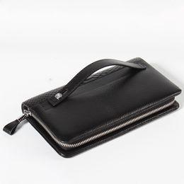 $enCountryForm.capitalKeyWord Australia - 2019 Classic Black Genuine Leather Credit Card Holder Wallet Card Case for Man Fashion Thin Coin Purse Pocket Bag Wallets designer handbags