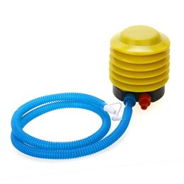 China Foot Air Pump Inflator for Balloon Swimming Ring Inflatable Toy Portable #233637 supplier toy inflator suppliers
