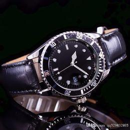 Ladies Luxury Gifts Australia - New Famous Luxury Crystal Dial Bracelet Christmas Gift For Ladies Women Dress Designer Fashion Black Dial Calendar Mens Watches
