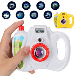 Camera Toy Gifts Australia - HBB 1PC High Quality Animal Projection Camera With Light Kids Educational Toys Baby Toy Gifts Random Color