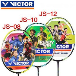Badminton racket racquet VICTOR JETSPEED S 12 12F 10 Complete threading 30 lbs High Quality perfect8588 on Sale