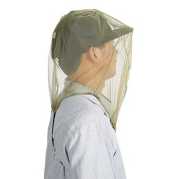 Camping hiking hats online shopping - Outdoors Sunscreen Hats Fashion Mosquito Proof Anti Wear Durability Portable Gauze Caps Folding Easy To Install Factory Direct jyI1
