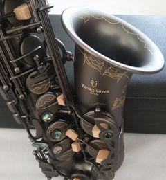 Melhor Qualidade Yanagisawa A-992 Alto Saxophone E-Flat Black Sax Alto Bocal Ligadura Reed Neck Acessórios Musical Instrument em Promoção