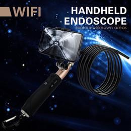 Engine Camera Australia - JMaoplus Wireless Endoscope tool Compatible iPhone Android USB type, 8mm sprocket cam Borescope Inspection pour engine Snake Camera 031