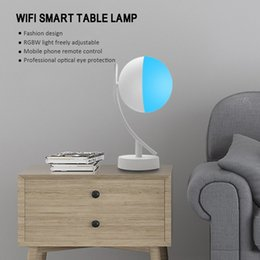 Discount camera for desk - For Family Places Smart Home Color Picking RGBW Bulb 3LED Table Desk Light ,Wifi App Controlled Night Lamp for Alexa Goo