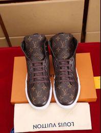 e01d7df80 Повседневная обувь на высоком каблуке Ботинки Мужские кроссовки Кожаные  кеды Платформа Кроссовки Размер 39-46 No Box