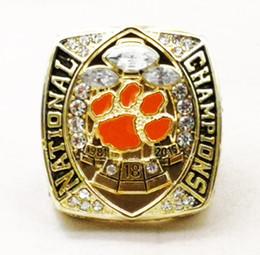 Размер 6-115 для NCAA 2018 Clemson Tigers Championship ring