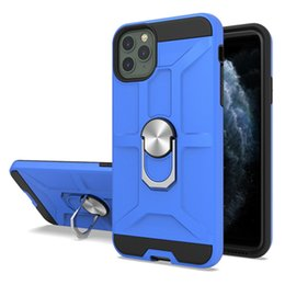 moto phone covers NZ - Magnetic Car Holder Phone Case with Hidden Kickstand For Motorola Moto G7 Power G7 Supra E5 Plus E5 Play Cruise Newest Popular Cover