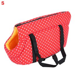 $enCountryForm.capitalKeyWord Australia - Pet Bag Gift Fashion Outdoor Foldable Zipper Elastic Sponge Portable Puppy Cat Sleeping Carrier House Shoulder Small Travel