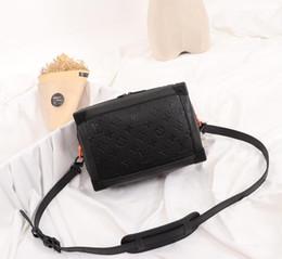 Vintage trunk purse online shopping - Genuine Leather Fashion Trunk Clutch Evening Purse Vintage Style Women Leather Handbag Brand With Designer Trunk Box Shoulder Bag