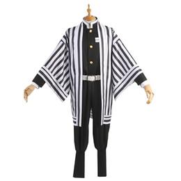 Wholesale anime cloths resale online - Anime Demon Slayer Kimetsu No Yaiba Cosplay Costumes Kanroji Mitsuri Iguro Obanai Cosplay Costume Cloth Blade Of Demon Kimono