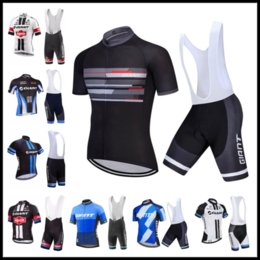 Discount giant bicycles shirts - GIANT Summer New men Short Sleeve Cycling jersey Set MTB Bike Wear Shirt bib shorts suit Quick dry Bicycle Cycling Cloth