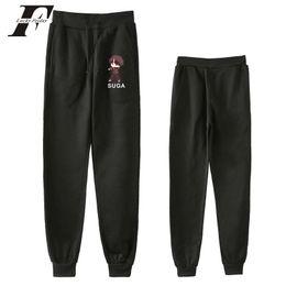 Gray cute fashion pants online shopping - 2018 BTS Love Yourself Cute Image Fashion pants High Quality Pants Casual Warm Slim Kpop Men