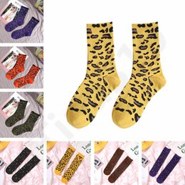 $enCountryForm.capitalKeyWord NZ - Winter Full length stockings leopard grain high tube stockings for women cotton leisure sport socks knee-socks 20color 50pair T1I1152