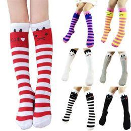 $enCountryForm.capitalKeyWord Australia - Winter Autumn Children Kids Baby Socks Cute Leg Warmers Girls Cotton Knee High Toddler Trim Boot Sock Hot New Fashion Hot Sale
