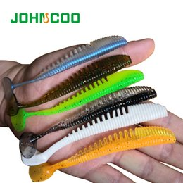 $enCountryForm.capitalKeyWord Australia - 10 pcs5pcs Soft Silicone Shad 100mm 5g Swimbait Vivid Pike Bass Lure Isca Artificial Bait Fishing Tackle Johncoo C19041201
