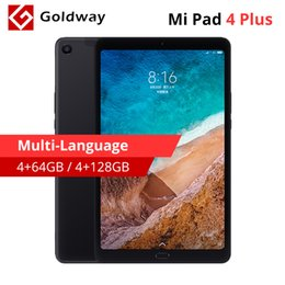 Venta al por mayor de Tabletas Xiaomi Mi Pad 4 Plus de 64GB original Mipad 4 Plus Snapdragon 660 Octa Core Tablet 10.1