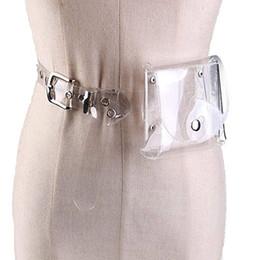$enCountryForm.capitalKeyWord Australia - Womens Waist Belts Fanny Pack Women Men Clear Waist Bag Laser Pack Holographic PVC Pouch Belt Bag Chest