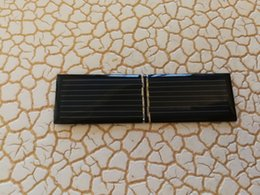 Freeship 100pcs solar panel accessorys 83x24mm 4V 55mA single-crystal silicon DIY making accessorys clean energy on Sale