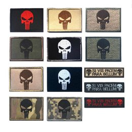 Punisher morale Patches online shopping - Punisher Patch the Tactical Military Patches Badges PUNISHER SKULL SWAT SPECIAL OPS USA ARMY MORALE PATCHES For Backpack jacket
