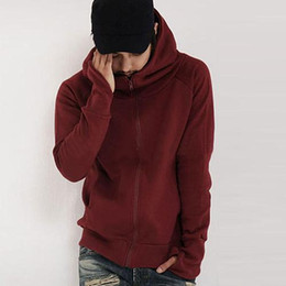 $enCountryForm.capitalKeyWord Australia - Cool Men Winter Warm Solid Color Gloves Sleeve Hooded Sweatshirt Outwear Jacket new