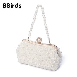 $enCountryForm.capitalKeyWord NZ - BBirds Women High Quality Luxury Crystal Evening Clutch Bag Elegant Handbag Lady Wedding Purse Party Rhinestones Pearl Wallet