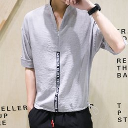 $enCountryForm.capitalKeyWord Australia - Hairdresser's Fashion Clothes Korean version Short Sleeves Non-mainstream Alternative Night Men's Young Master's Clothing Personality Trend