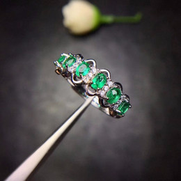 Shop Product Australia - Special Products, Natural Emerald Rings, Compact And Compact, 925 Silver Favorite Shops. J 190430