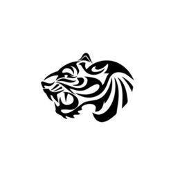 Discount tribal stickers - Tiger Tribal Art Car Window Vinyl Decal Sticker Motorcycle Bumper Car Window Laptop Car Stylings