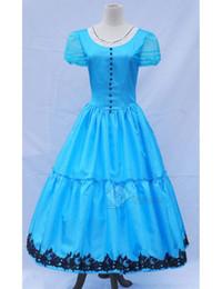 $enCountryForm.capitalKeyWord Australia - Alice in Wonderland 2 Alice Blue Dress Cosplay Costume