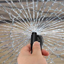 $enCountryForm.capitalKeyWord Australia - 1PC Car Styling Pocket Auto Emergency Escape Rescue Tool Glass Window Breaking Safety Hammer With Keychain Seat Belt Cutter