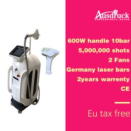 15mm handle online shopping - Pro nm Diode Laser Hair Removal Machine W power Freezing Painless fast mm mm Germany bars beam handle