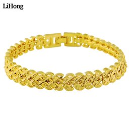 Wholesale New k Golden Color Double Cross Bracelet For Female Fashion Simple Best Jewelry Gift