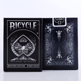 $enCountryForm.capitalKeyWord Australia - Bicycle Shadow Masters Playing Cards Ellusionist Black Deck Magic Cards Poker Card Games Close Up Stage Magic Tricks Magic Props