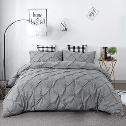 Extra long shEEts online shopping - bedding sets three piece handwork plain cm to cm suit Quilt cover and pillowcases No sheets