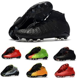 $enCountryForm.capitalKeyWord Australia - Original New High Ankle Top Football Boot Hypervenom Phantom Iii Df Fg Acc Soccer Cleats Hypervenomx Proximo Tf Ag Indoor Soccer Shoes Turf