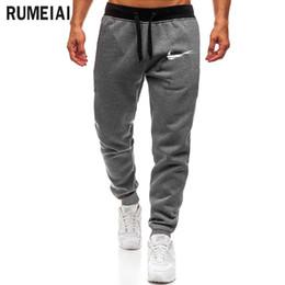 cd545ad2407203 2018 Pantaloni da jogger di alta qualità Uomo Fitness Bodybuilding Pantaloni  per corridori Abbigliamento di marca
