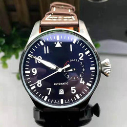Big pilots watch online shopping - Top Quality Luxury Wristwatch Big Pilot Midnight Blue Dial Automatic Men s Watch MM Mens Watch Watches Christmas Gift