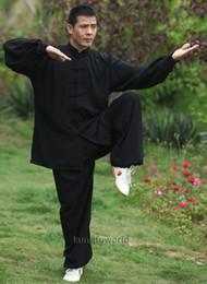 $enCountryForm.capitalKeyWord Australia - Tai chi Uniform Cotton 5 Colors High Quality Wushu Kung fu Clothing Kids Adults Martial arts Wing Chun Suit