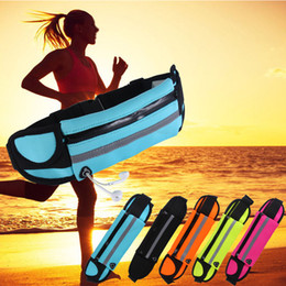 Wholesale Unisex Outdoor Running Waist Bag Waterproof Mobile Phone Holder Quality SBR Diving Material Waist Bag Sports Accessories
