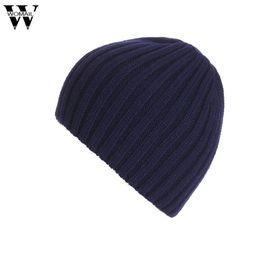 Discount snow wool beanies - Fashion Winter Warm Beanie Caps Men Women Snow Knitted Hats Skullies Gorro Amazing High Quality 2016