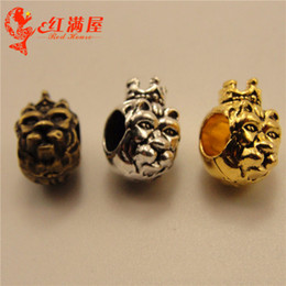 $enCountryForm.capitalKeyWord NZ - 100pcs 12*10*8MM Antique tibetan silver bronze monkey beads charms vintage metal pendants diy necklace bracelet earring jewelry making