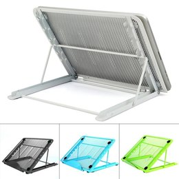 $enCountryForm.capitalKeyWord Australia - New Mesh Ventilated Adjustable Metal Stand Holder for Laptop Notebook  Tablet New Fashion Mesh Laptop Stand