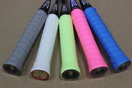 tennis racket overgrips UK - dry frosting sweat band grip ( 60 pcs in one set ) badminton racket sweat band . tennis racket overgrips