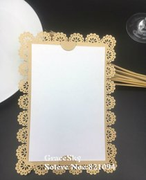 $enCountryForm.capitalKeyWord Australia - 50pcs lot free shipping HOT Flower pearl paper laser cutting wedding save the date cards and lace invitation cards can be customized