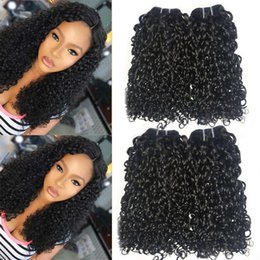 fumi hair weave 2019 - unmi Curl New Fashion Royalty Hair Weaves 3 PCs Lot Unprocessed Human Hair Extensions Fumi Curly Hair