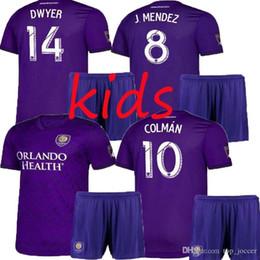 $enCountryForm.capitalKeyWord Australia - best selling Orlando City Kids kit Home KAKA Soccer Jersey 19 20 #10 COLMAN #14 DWYER BOYS Soccer Shirt J.MENDEZ PATINO Football uniforms